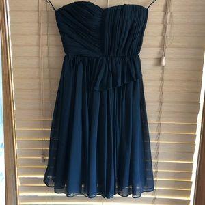 NWT Black tea length dress from Mango